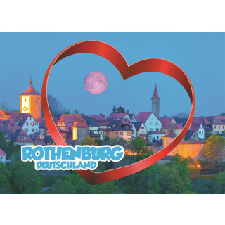 Fotomagnet Foto Magnet Rothenburg TOPS000190
